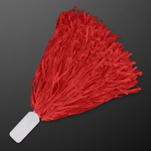 Economy Red Pom Poms (Non-Light Up)
